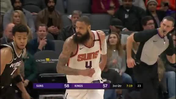 Mike James Connects with Tyson Chandler on Alley-Oop