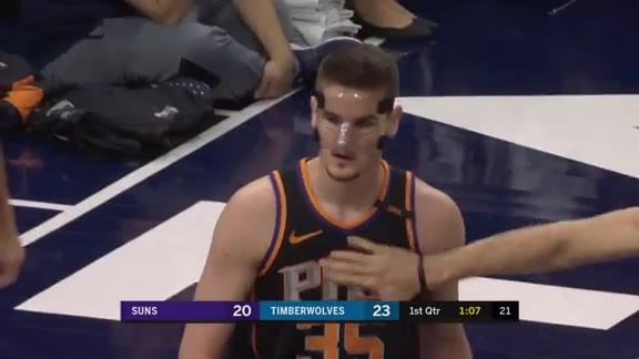 Dragan Bender Blocks Away Dieng's Shot