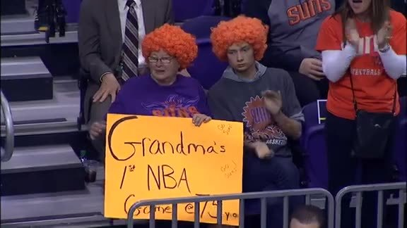 Tom Chambers' Top 5 from #SunsvsGrizzlies