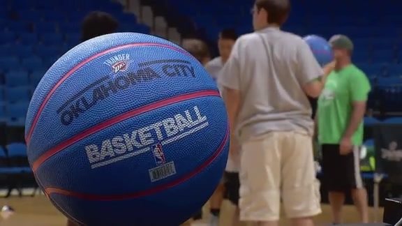 Thunder Teams Up with Special Olympics