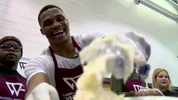Westbrook Delivers Holiday Cheer at Thanksgiving Dinner