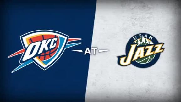Thunder at Jazz Recap - 11/23