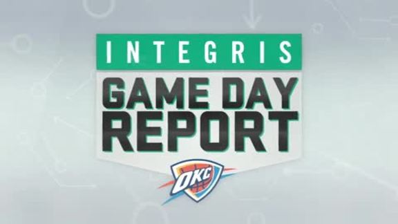 INTEGRIS Game Day Report: Nov. 25, 2015