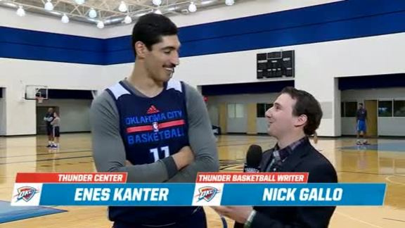 1-on-1: Enes Kanter - 11/27