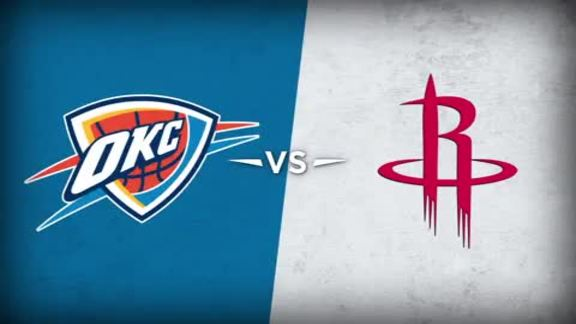 Thunder vs. Rockets Recap - 1/29