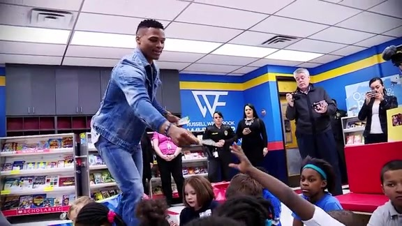 Westbrook Opens Fifth OKC Reading Room