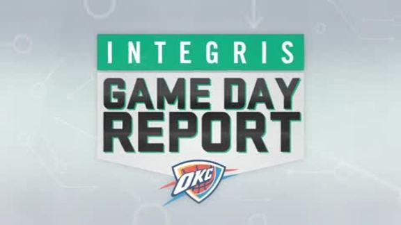 INTEGRIS Game Day Report: Feb. 5, 2016