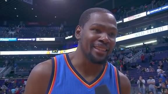 Walkoff Interview: Kevin Durant - 2/8