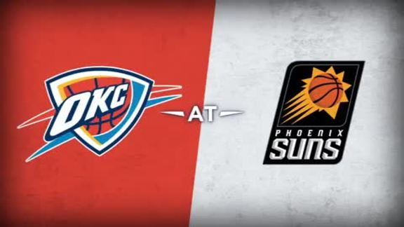 Thunder at Suns Recap - 2/8