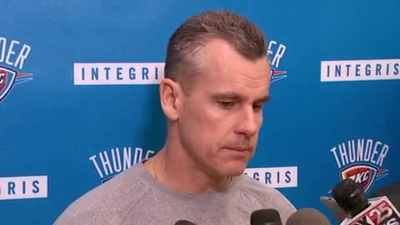 Game Day: Coach Donovan - 2/11