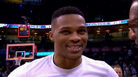 Walkoff Interview: Russell Westbrook - 2/11