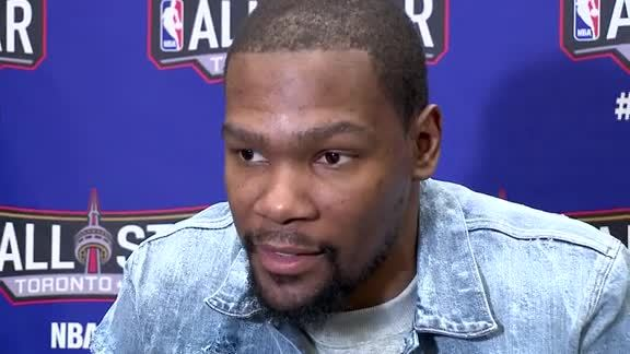 All-Star Media Day: Kevin Durant
