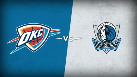 Game 1: Thunder vs. Mavericks Recap - 4/16