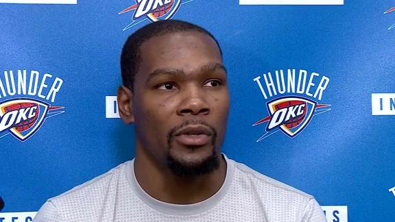 Practice: Kevin Durant - 4/19