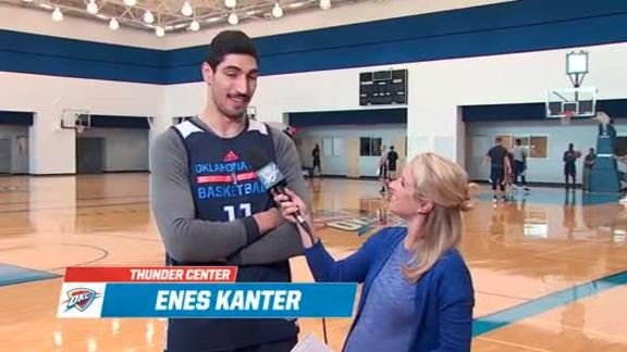 1-on-1: Enes Kanter - 4/25