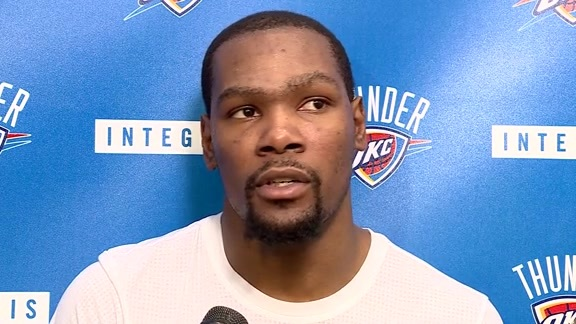 Watch: Durant on Spurs