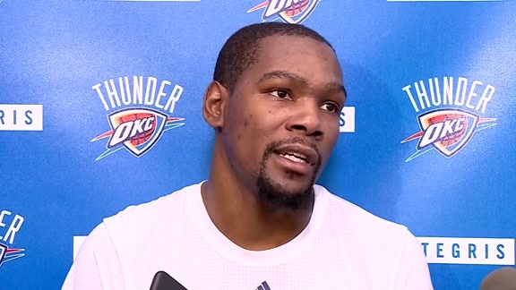 Practice: Kevin Durant - 5/5