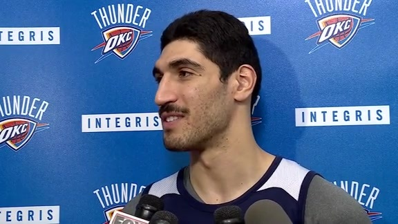 Game Day: Enes Kanter - 5/6