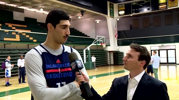 1-on-1: Enes Kanter - 5/18