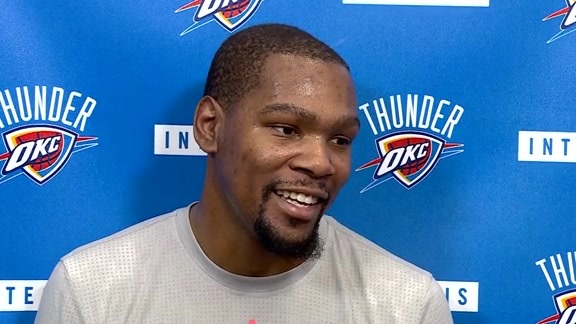 Practice: Kevin Durant - 5/20