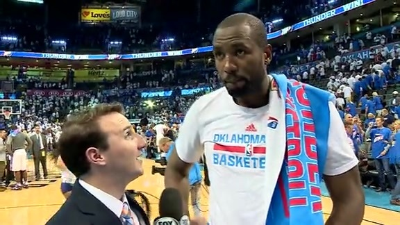 Walkoff Interview: Serge Ibaka - 5/22