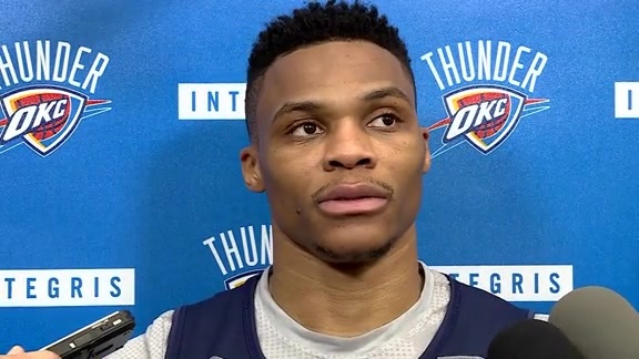 Practice: Russell Westbrook - 5/23