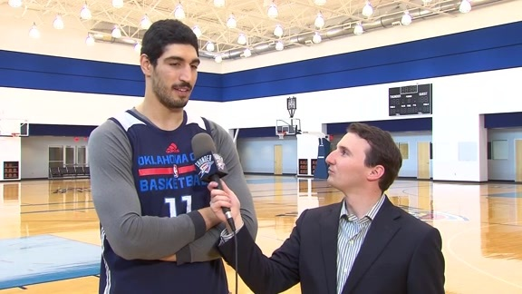 1-on-1: Enes Kanter - 5/30