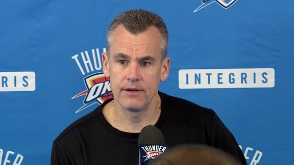 Media Availability: Coach Donovan
