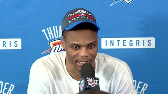 Media Availability: Russell Westbrook