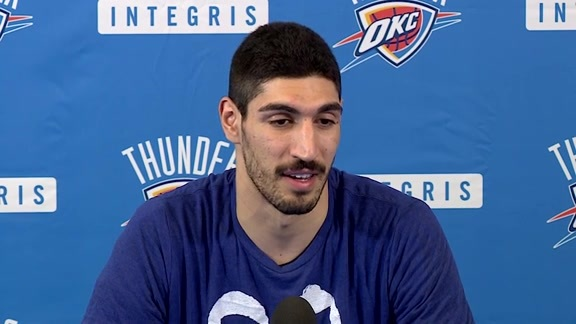 Media Availability: Enes Kanter