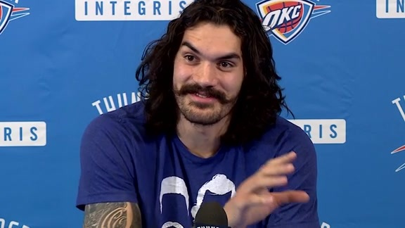 Media Availability: Steven Adams