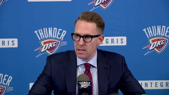 Presti Addresses Media Following Draft