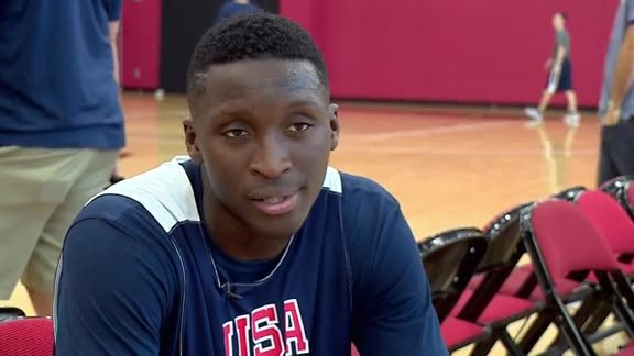 Oladipo Training With USA Basketball