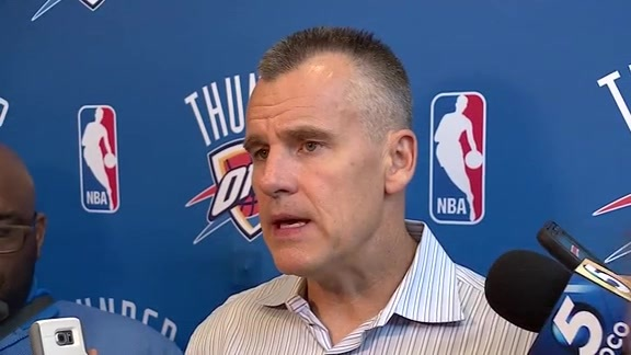 Donovan Talks Westbrook Extension