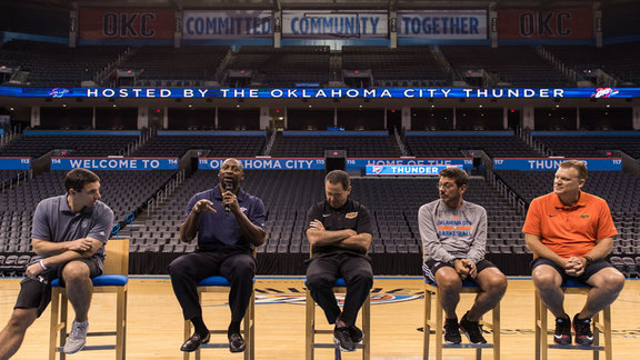 Sixth Annual Thunder Coaches Clinic