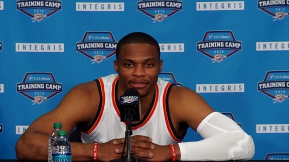 Media Day: Russell Westbrook