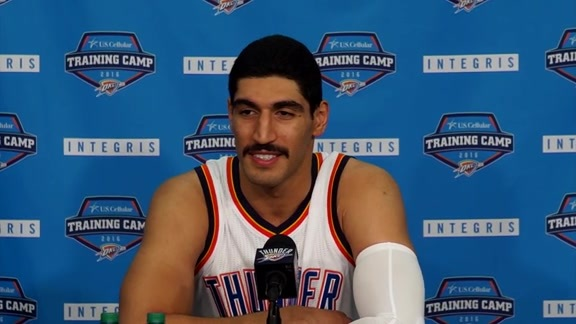 Media Day: Enes Kanter