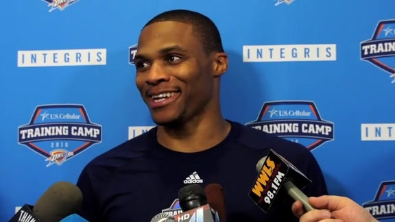 Training Camp: Russell Westbrook - 9/24