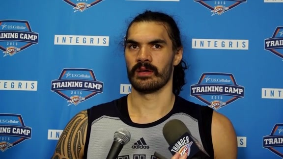 Training Camp: Steven Adams - 9/25