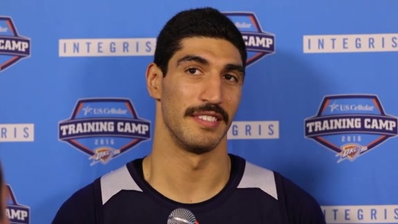 Training Camp Talk - Enes Kanter