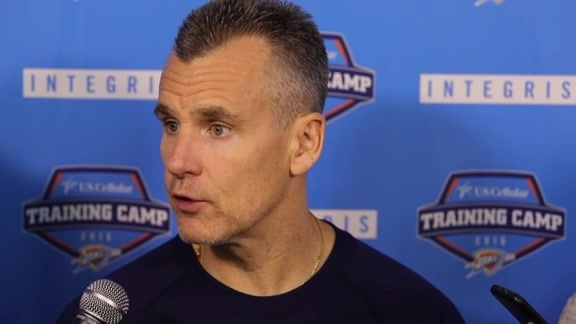 Training Camp Talk - Coach Donovan