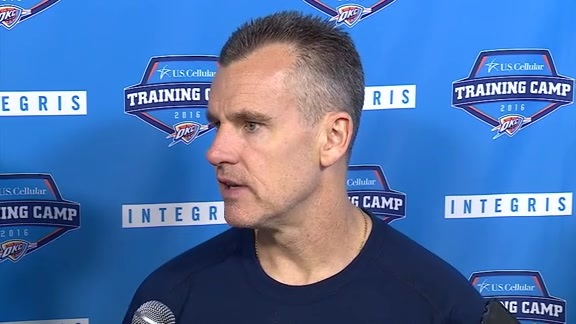 Camp Talk - Coach Donovan