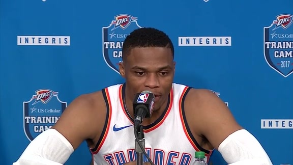 2017 Media Day: Russell Westbrook