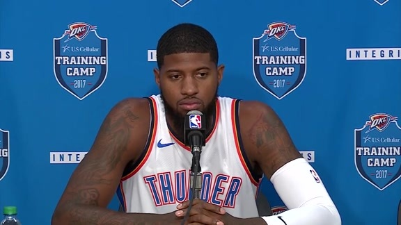 2017 Media Day: Paul George
