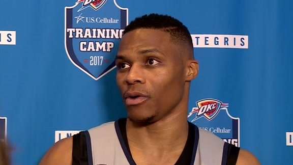 Camp Talk: Russell Westbrook - 10/7
