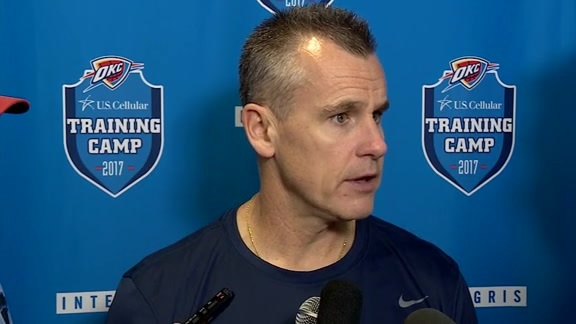 Camp Talk: Coach Donovan - 10/12