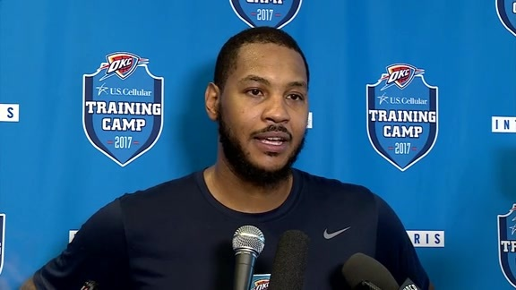 Camp Talk: Carmelo Anthony - 10/12