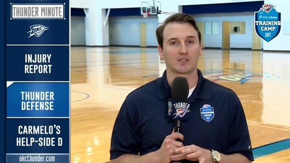 Thunder Minute: Training Camp - 10/12