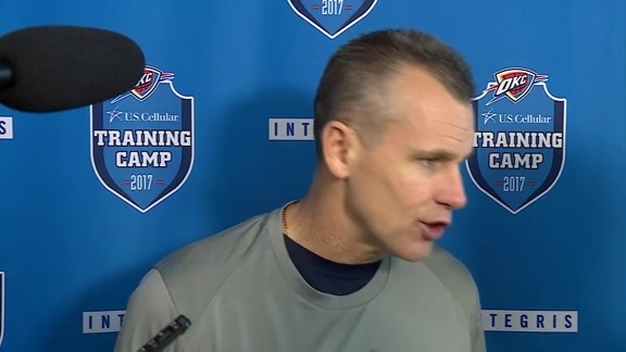 Camp Talk: Coach Donovan - 10/13
