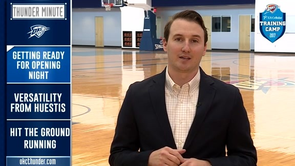Thunder Minute: Training Camp - 10/13